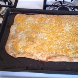 Garlic-Cheese Flat Bread Recipe