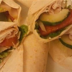 easy snack wraps photos