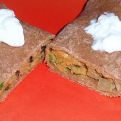 Sweet Potato Black Bean Roll-Ups Recipe