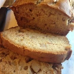 Ginger Pear Bread Recipe