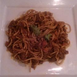 Rhino's Spaghetti Bolognese!