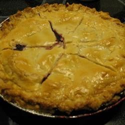 Mystery Ingredient Wild Blueberry Pie Recipe