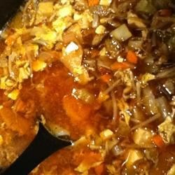 Hot and Sour Chicken and Cabbage Soup Recipe