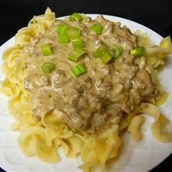 Mitzie's Beef Stroganoff ~ Recipe Group Selection:  29, December 2012