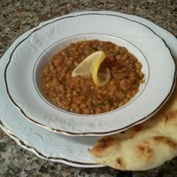 Lentil Soup with Lemon