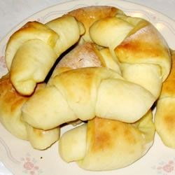 Potato Crescent Rolls