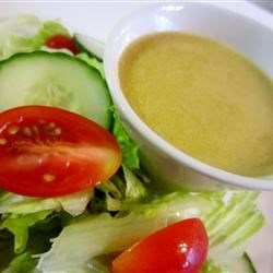 Lemony Caesar Salad Dressing