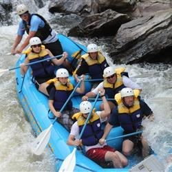 Rafting the Chatooga