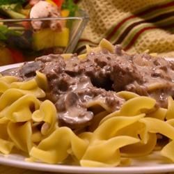 Photo of Mitzie's Beef Stroganoff by JARRIE