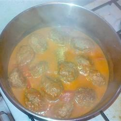 Middle Eastern Cumin Meatballs Recipe