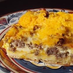 English Muffin Breakfast Strata Recipe