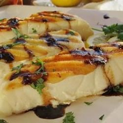 Halibut with Rice Wine