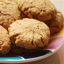 Photo of Peanut Butter and Bran Cookies by Ruth Mallon