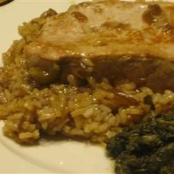 Pork Chops and French Onion Rice Recipe