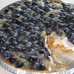 Blueberry Salad Pie