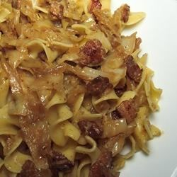 Fried Cabbage with Bacon, Onion, and Garlic Recipe