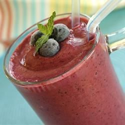 Blueberry Cream Slushy