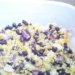 Photo of Quinoa and Black Bean Salad by Janberet