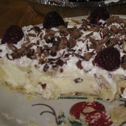 Vanilla Bavarian Cream Pie Recipe