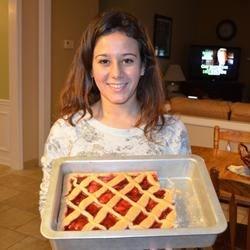 "Costanza & her ""crostada"""