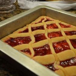 Costanza's Strawberry Crostada