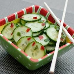 Cucumber Salad With Thai Sweet Chili Vinaigrette Recipe