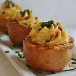 Ultimate Twice Baked Potatoes by Dannon Oikos(R)