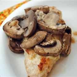 Muenster Chicken and Mushrooms Recipe