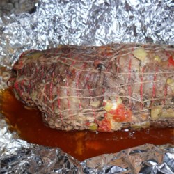 Stuffed Greek Leg of Lamb Recipe
