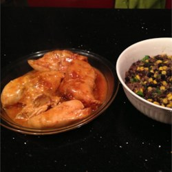 Salsa Chicken and Black Bean Quinoa