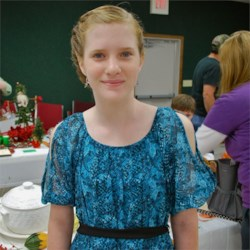 Me at the 4-H food show.