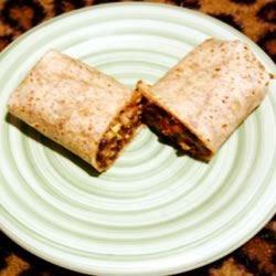Black Bean & Artichoke Burrito
