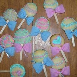 Sugar Cookie Baby Rattles