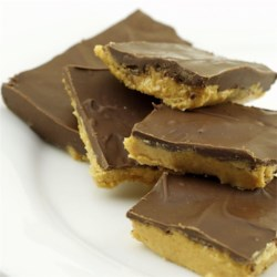 Easy Buckeye Bars Recipe