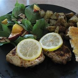 Marinated Rosemary Lemon Chicken Recipe
