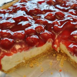 Christmas Cherry Cheese Pie Recipe