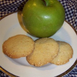 Golden Sesame Cookies Recipe