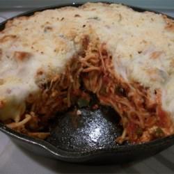 Timballo Spaghetti Casserole Recipe