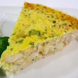 Crab and Cheddar Quiche Recipe