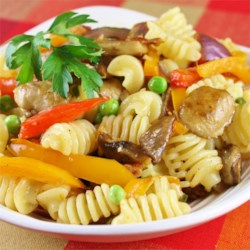 Pasta and Vegetable Saute Recipe