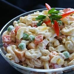 Bacon Ranch Macaroni Salad