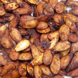 Cajun Spiced Roasted Pumpkin Seeds