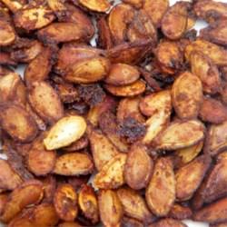 cajun spiced roasted pumpkin seeds printer friendly