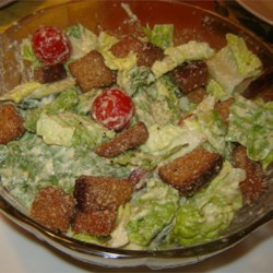 Simple Caesar Salad Dressing Recipe
