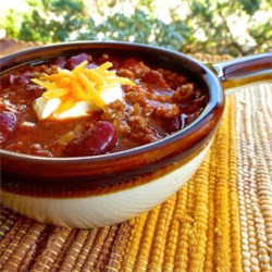 Mark's Firehouse Chili Recipe