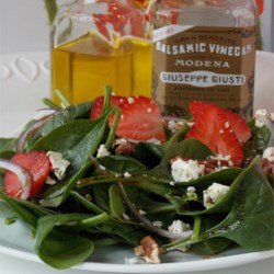 Perfect Spinachberry Salad Recipe
