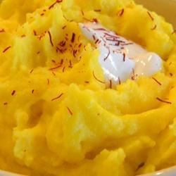 Saffron Mash Potatoes