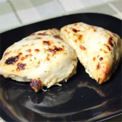 Marinated Ranch Broiled Chicken Recipe