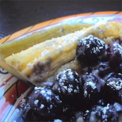 Microwave Blueberry Dutch Baby Recipe