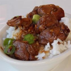 Hunan-Style Chicken